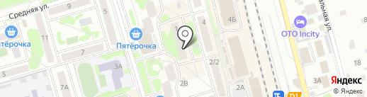 Связной на карте Лобни