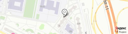 Магазин разливных напитков на карте Химок