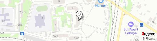Восточный, МБУ на карте Лобни