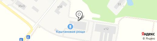 Каштановая Роща на карте Лобни