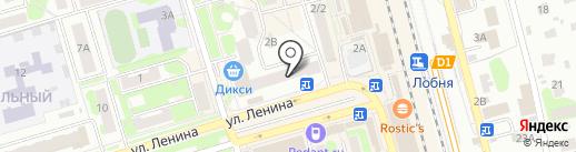 Лобненский отдел Кадастровой палаты по Московской области на карте Лобни