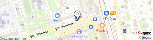 Медиа-Селект на карте Лобни