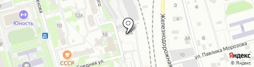 ПОСБОН на карте Лобни