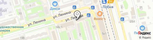 Facetrip.ru на карте Лобни