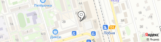 Магазин сантехники и электрики на карте Лобни