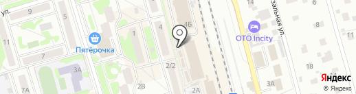 Жаровня на карте Лобни