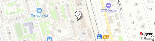Магазин одежды для женщин на карте Лобни