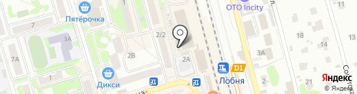 Мясной магазин на карте Лобни