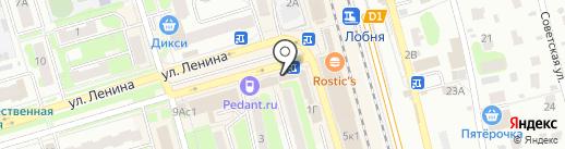 Центр золото на карте Лобни