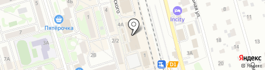 Магазин посуды на карте Лобни