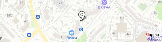 Эко поле на карте Москвы
