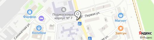 Киоск бытовых услуг на карте Лобни