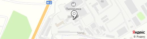 Форест на карте Щёкино