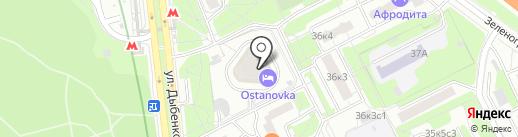 CHOKO на карте Москвы