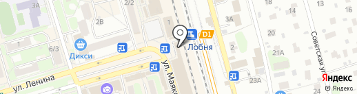 МегаФон на карте Лобни