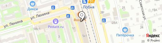 Астра-Л на карте Лобни
