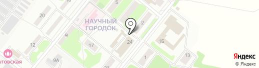Магазин фруктов и овощей на карте Лобни