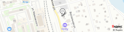 Отель №1 на карте Лобни