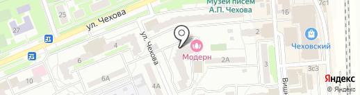Вуаля на карте Чехова