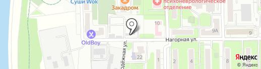 Камешек на карте Долгопрудного