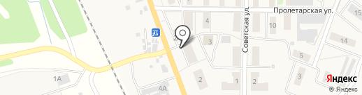 Самшит на карте Барсуков