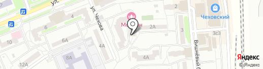 Дак-тур на карте Чехова