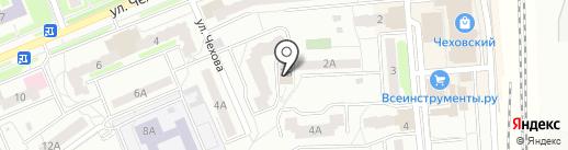 МФЮА на карте Чехова