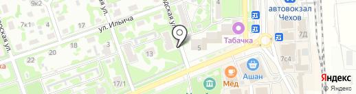 Райский уголок на карте Чехова