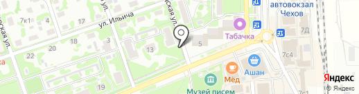 Магазин рыбы на карте Чехова