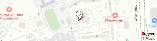 Комбат на карте Чехова
