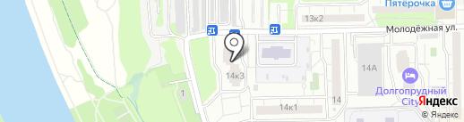 Мировые судьи Долгопрудненского района на карте Долгопрудного