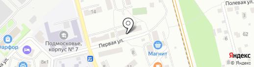 Лобняпрофснаб на карте Лобни