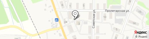 Сеть киосков по продаже питьевой воды на карте Барсуков