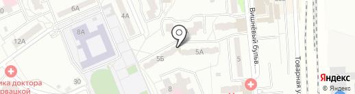 Вилена Клуб на карте Чехова
