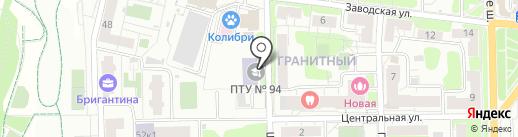 Долгопрудненский техникум на карте Долгопрудного