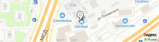 Школа фигурного катания памяти Людмилы Пахомовой на карте Химок