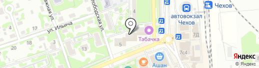 Платежный терминал, Сбербанк России на карте Чехова