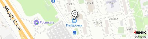 МАКС на карте Москвы