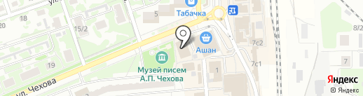 Дарина на карте Чехова
