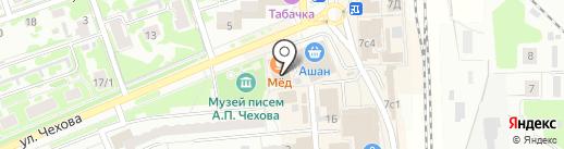 Ольга на карте Чехова