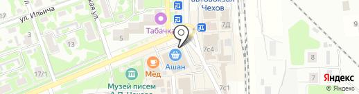 Элекснет на карте Чехова