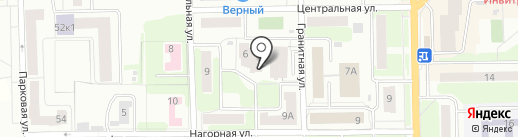 Веселый пончик на карте Долгопрудного