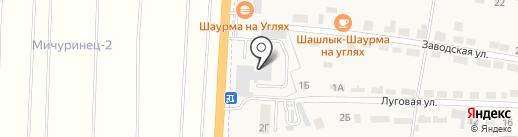 Автоангел 24 на карте Первомайского