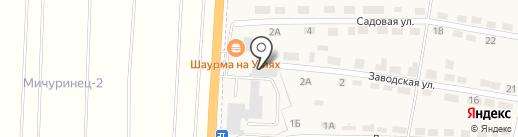 Шиномонтажная мастерская на карте Первомайского