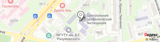 Спецсталь, ЗАО на карте Москвы