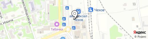 Pizza express на карте Чехова