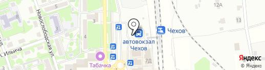 Автовокзал на карте Чехова