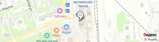 Билайн на карте Чехова