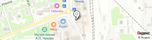 Банк Воронеж на карте Чехова