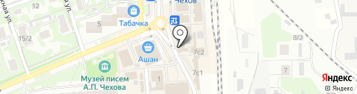 Рублёвский на карте Чехова